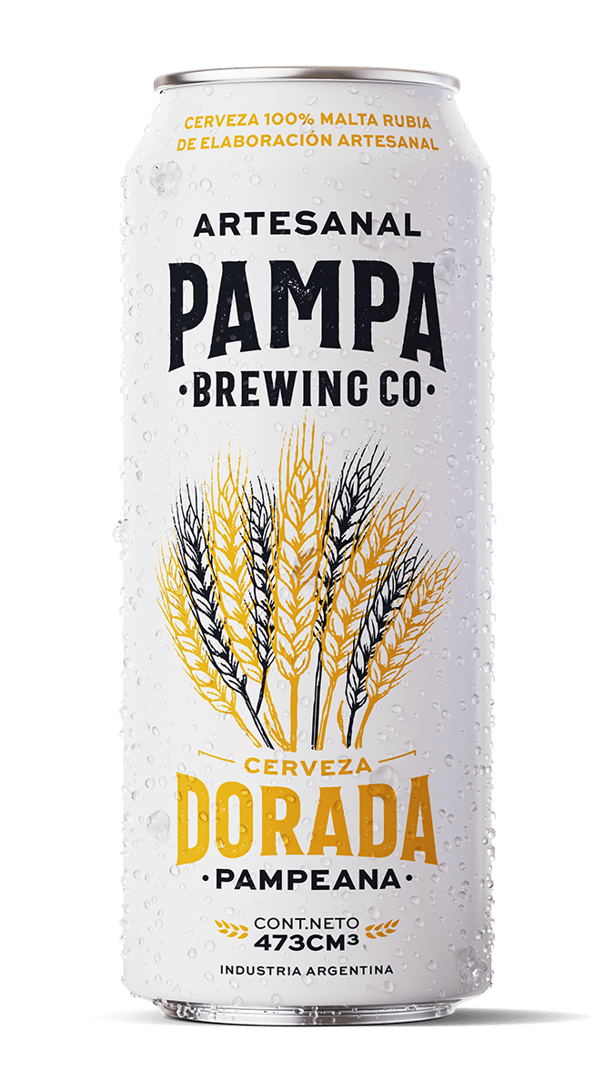 HOT SALE ——PAMPA BREWING DORADA PAMPEANA – 473cc X6